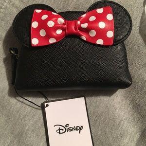 Minnie Mouse head change purse
